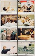 """Movie Posters:Crime, Get Carter (MGM, 1971). Lobby Card Set of 8 (11"""" X 14""""). Crime.. ... (Total: 8 Items)"""
