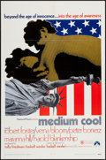 "Movie Posters:Drama, Medium Cool (Paramount, 1969). One Sheet (27"" X 41""). Drama.. ..."