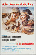 "Movie Posters:Adventure, The Man Who Would Be King (Columbia, 1975). One Sheet (27"" X 41""),and Lobby Cards (4) (11"" X 14""). Adventure.. ... (Total: 5 Items)"