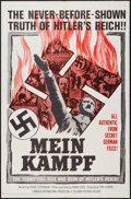 "Movie Posters:Documentary, Mein Kampf (Columbia, 1960). One Sheet (27"" X 41"") & Lobby Card Set of 8 (11"" X 14""). Documentary.. ... (Total: 9 Items)"