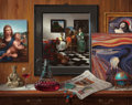 Paintings, JENNESS CORTEZ (American, b. 1944). Missing. Oil on panel. 24 x 30 in.. Signed lower right. ... (Total: 2 Items)