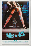 "Movie Posters:Exploitation, Ms. 45 (Rochelle Films, 1981). One Sheet (27"" X 41"").Exploitation.. ..."