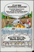 """Movie Posters:Animation, Race for Your Life, Charlie Brown (Paramount, 1977). One Sheet (27""""X 41""""). Animation.. ..."""