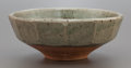Ceramics & Porcelain, British:Contemporary   (1950 to present)  , BERNARD LEACH (British, 1887-1979). Earthenware Bowl.Partially glazed earthenware. 3-1/2 x 8-3/4 x 8-3/4 inches (8.9 x...