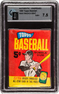 Baseball Cards:Unopened Packs/Display Boxes, 1965 Topps Baseball Five Cent Wax Pack GAI NM+ 7.5. ...