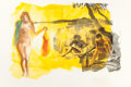 Post-War & Contemporary:Contemporary, ERIC FISCHL (American, b. 1948). Untitled (Rays), 1989.Color aquatint. 35-1/2 x 84 inches (90.2 x 213.4 cm). Ed. 18/100...