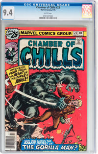 Chamber of Chills #23 (Marvel, 1976) CGC NM 9.4 White pages