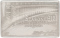Baseball Collectibles:Others, 1915 New York Giants Silver Season Pass to The Polo Grounds....