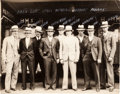 Baseball Collectibles:Photos, 1934 Chicago Cubs Original Photograph by George Burke - PSA/DNAType I....