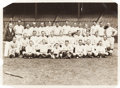 Baseball Collectibles:Photos, 1926 New York Yankees Team Photograph by George Grantham Bain -Babe Ruth Pictured....