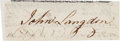 "Autographs:Statesmen, Signer of the United States Constitution John Langdon ClippedSignature ""John Langdon."" ..."