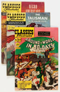 Golden Age (1938-1955):Classics Illustrated, Classics Illustrated First Editions Group (Gilberton, 1950-69).... (Total: 4 Comic Books)