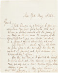 "Autographs:Military Figures, Quincy A. Gillmore War Dated Autograph Letter Signed ""Q. A. Gillmore Brig. Genl.""..."