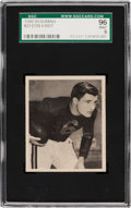 Football Cards:Singles (Pre-1950), 1948 Bowman Don Kindt #23 SGC 96 Mint 9 - Pop One, Single Highest SGC Example! ...