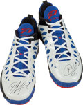 Basketball Collectibles:Others, 2012 Chris Paul Game Worn, Signed Shoes....