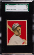 Baseball Cards:Singles (1940-1949), 1949 Bowman Dom DiMaggio, Grey Back #64 SGC 96 Mint 9....