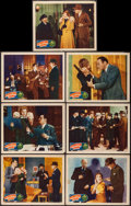 "Movie Posters:Adventure, International Crime (Grand National, 1938). Lobby Cards (7) (11"" X14""). Adventure.. ... (Total: 7 Item)"