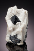 Minerals:Cabinet Specimens, FRANKLINITE. Franklin, Franklin Mining District, Sussex Co., NewJersey, USA. ...