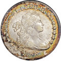 Early Dollars, 1798 $1 Small Eagle, 15 Stars AU58+ NGC. CAC. B-2, BB-81, R.3....