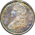 Proof Bust Half Dollars, 1836 50C Lettered Edge, 50 over 00 PR66 NGC. O-116, R.7 asproof....