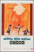 """Movie Posters:Musical, Gypsy (Warner Brothers, 1962). One Sheet (27"""" X 41""""). Musical.. ..."""
