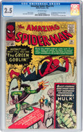 Silver Age (1956-1969):Superhero, The Amazing Spider-Man #14 (Marvel, 1964) CGC GD+ 2.5 Off-white pages....