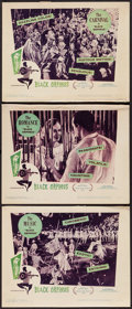 """Movie Posters:Foreign, Black Orpheus (Lopert, 1959). Lobby Cards (3) (11"""" X 14""""). Foreign.. ... (Total: 3 Items)"""