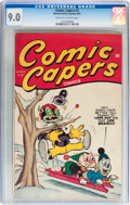 Golden Age (1938-1955):Funny Animal, Comic Capers #3 (Red Circle/Marvel, 1945) CGC VF/NM 9.0 Off-whiteto white pages....