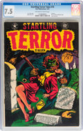 Golden Age (1938-1955):Horror, Startling Terror Tales #10 (Star Publications, 1952) CGC VF- 7.5Off-white to white pages....