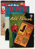 Golden Age (1938-1955):Miscellaneous, Golden Age Miscellaneous Comics Group (Various Publishers, 1940s-60s) Condition: Average VG.... (Total: 34 Comic Books)