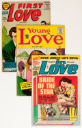 Golden Age (1938-1955):Romance, Comic Books - Assorted Simon & Kirby Romance Comics Group (Various Publishers, 1950s-'60s) Condition: Average VG.... (Total: 12 Comic Books)