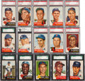 Baseball Cards:Sets, 1953 Topps Baseball High Grade Complete Set (274) With 238 GradedCards. ...