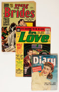 Golden Age (1938-1955):Romance, Comic Books - Assorted Golden Age Simon & Kirby Romance ComicsGroup (Various Publishers, 1940-'50s) Condition: Average FR....(Total: 28 Comic Books)