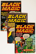 Golden Age (1938-1955):Horror, Black Magic Group (Prize, 1951-60) Condition: Average GD....(Total: 10 Comic Books)
