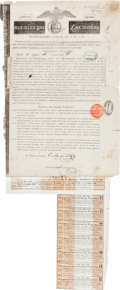 """Autographs:Celebrities, Nathan Mayer Rothschild Russian Bold Signed """"N.Rothschild.""""..."""