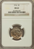Buffalo Nickels: , 1916 5C MS62 NGC. NGC Census: (211/1465). PCGS Population(99/2193). Mintage: 63,498,064. Numismedia Wsl. Price forproblem...