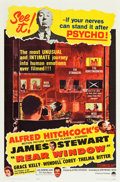"""Movie Posters:Hitchcock, Rear Window (Paramount, R-1962). One Sheet (27"""" X 41"""").. ..."""