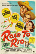 "Movie Posters:Comedy, Road to Rio (Paramount, 1948). One Sheet (27"" X 41"") and Lobby CardSet of 8 (11"" X 14"").. ... (Total: 9 Items)"