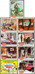"Movie Posters:Animation, 101 Dalmatians (Buena Vista, 1961). Lobby Card Set of 9 (11"" X 14"").. ... (Total: 9 Items)"