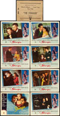 "Movie Posters:Film Noir, The Stranger (RKO, 1946). Lobby Card Set of 8 (11"" X 14"").. ...(Total: 8 Items)"