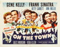 "Movie Posters:Musical, On the Town (MGM, 1949). Half Sheet (22"" X 28"") Style B.. ..."