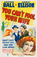 """Movie Posters:Comedy, You Can't Fool Your Wife (RKO, 1940). One Sheet (27"""" X 41"""").. ..."""