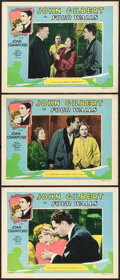 "Movie Posters:Crime, Four Walls (MGM, 1928). Lobby Cards (3) (11"" X 14"").. ... (Total: 3Items)"