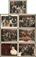 """Movie Posters:Comedy, Rouged Lips (MGM, 1923). Title Lobby Card & Lobby Cards (6)(11"""" X 14"""").. ... (Total: 7 Items)"""