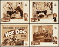 "Movie Posters:Comedy, Hot Dog (MGM, 1929). Lobby Card Set of 4 (11"" X 14"").. ... (Total:4 Items)"
