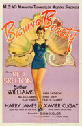 """Movie Posters:Musical, Bathing Beauty (MGM, 1944). One Sheet (27"""" X 41"""") Style C.. ..."""