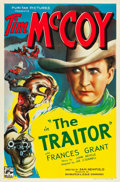 "Movie Posters:Western, The Traitor (Puritan, 1936). One Sheet (27"" X 41"").. ..."