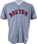 Baseball Collectibles:Uniforms, 2004 Jason Varitek Game Worn Boston Red Sox Jersey. ...