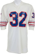 Football Collectibles:Uniforms, Early 1970's O.J. Simpson Game Worn Buffalo Bills Jersey. ...