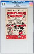 Platinum Age (1897-1937):Miscellaneous, Mickey Mouse Magazine Dairy Giveaway V1#10 (Walt DisneyProductions, 1934) CGC FN+ 6.5 White pages....